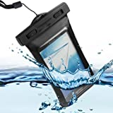 Semoss Veritable Etanche Waterproof Etui Housse Coque Impermeable Case Cover pour Samsung Galaxy Core Prime G360 Noir