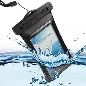 Semoss Veritable Etanche Waterproof Etui Housse Coque Impermeable Case Cover pour Microsoft Lumia 535 Noir