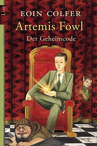 Buchseite und Rezensionen zu 'Artemis Fowl - Der Geheimcode' von Eoin Colfer