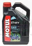 MOTUL - 105879 : Aceite lubricante motor mineral ATV-UTV 4T 10W40 4 L