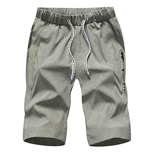 f9e01fa22554 Scothen Herren Cargo Shorts Bermuda Kurze Hose Jeans Bermudas Shorts Vintag Kurze  Hose Kariert Knielang Sport