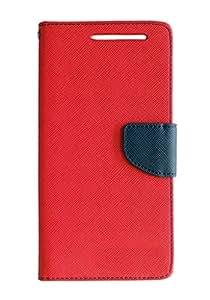 Vikreta Flip Cover For Samsung A5 - Red