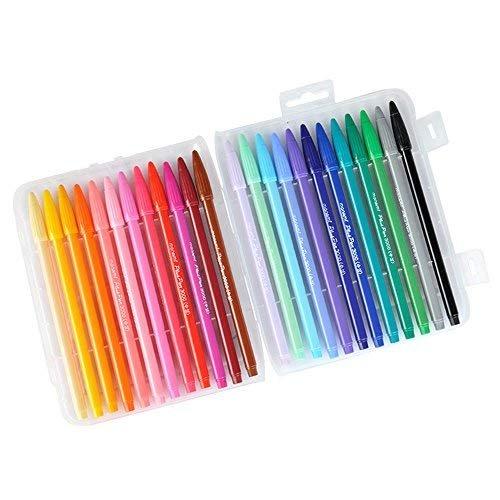 Multicolor Bolígrafo de gel plus lápiz Korean Carta Papel Regalo Oficina material escolar requisitos caracteres lápiz lápiz Fieltro a base de agua tinta Varios Marcadores Dibujo Pintura escritura sensible