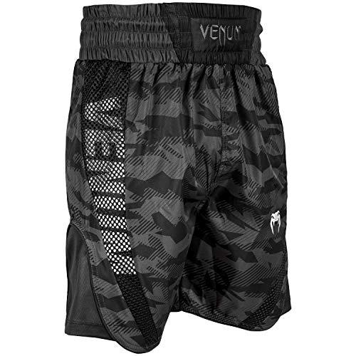 Venum Elite Boxen Shorts Urban Tarnen/Schwarz, M