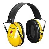 3M H510F-404-GU Cuffie Protettive, Ripiegabile, 28 dB, Giallo