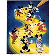Mickey Mouse Poster (27 x 40 Inches - 69cm x 102cm) (9999)