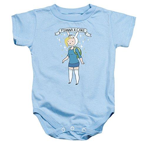 Adventure Time - - Kleinkind Fionna & Kuchen-Strampler, 6 Months, Light Blue