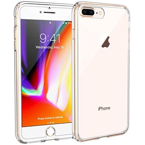 atibel mit iPhone 8 Plus iPhone 7 Plus, Syncwire UltraRock Transparent Schutzhülle mit Extrem Hohen Fallschutz und Luftkissen, Technologie Handyhülle für iPhone 8 Plus 7 Plus ()