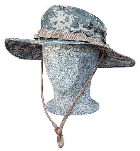 Boonie Hat Buschut GI Army Tropen Hut Camo ACU Tarn XL (Hut Acu Boonie)