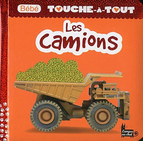 Les camions - Bébé touche-à-tout