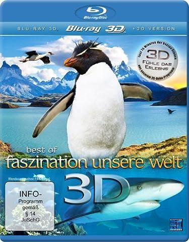Best of Faszination Unsere Welt - Fühle das Erlebnis (inkl. 2D Version) [3D Blu-ray] (Beste 3d Blue Ray Filme)