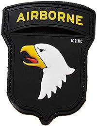 ecusson airborne aigle en pvc 3D vinyl et relief special force navy seal army armée us usa 9x7cm