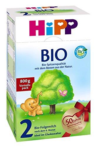 HIPP 2 Bio Milchnahrung 2x 800g
