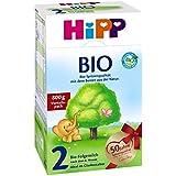 Hipp biologique 2 lait de suite - à partir de 6 mois, 7 paquet (7 x 800g)