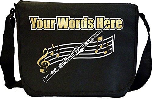 Oboe - Personalisierte Sonderanfertigungen Musik Noten Tasche Sheet Music Document Bag MusicaliTee