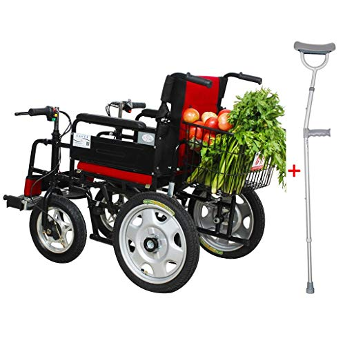 Silla de ruedas eléctrica de Walker médica adecuada para personas mayores con...
