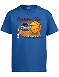 Camiseta NBA Cleveland Cavaliers Baloncesto Basketball Fan I Love This Game