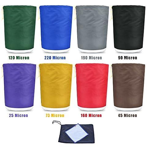 Healthline® Bubble Bag 1 Gallon 8 Bags Ice Herbal Hash