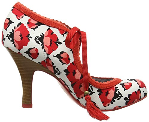 Ruby Shoo  Willow,  Damen Pumps , Mehrfarbig - Multicolor (Tulip) - Größe: 37 EU( 4 UK ) -