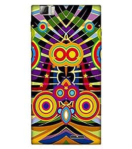 Takkloo abstract pattern ( colourful pattern, trendy pattern, nice pattern) Printed Designer Back Case Cover for Lenovo K900