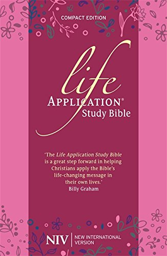 NIV Compact Life Application Study Bible (Anglicised): Pink Soft-tone (New International Version)
