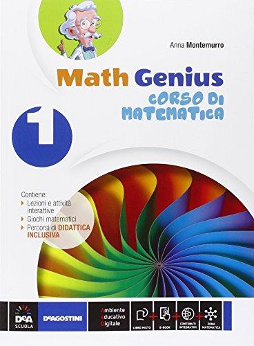 Math genius. Palestra matematica. Per la Scuola media. Con e-book. Con espansione online: 1