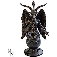 Nemesis Now Baphomet - Statuetta anticata, 29,5 cm, colore: Bronzo
