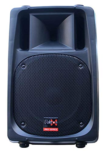 "E-Lektron EL12-DA 600W DJ PA Aktiv-Lautsprecher Box 30cm (12"") digital Bi-Amp Bluetooth/USB"
