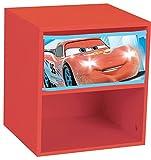 Fun House 712364Disney Cars Nachttisch mit Schublade für Kinder MDF
