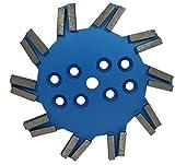 Diamant Stern-Schleifscheibe Premium Ø 250 mm für Einscheibenschleifmaschinen zum Schleifen von harten Untergründen