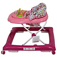 iSafe First Steps Baby Walker Push Along with Music Activity Toy Tray