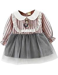 59d8b19848b8 Amazon.co.uk  Newborn - Dresses   Baby Girls 0-24m  Clothing