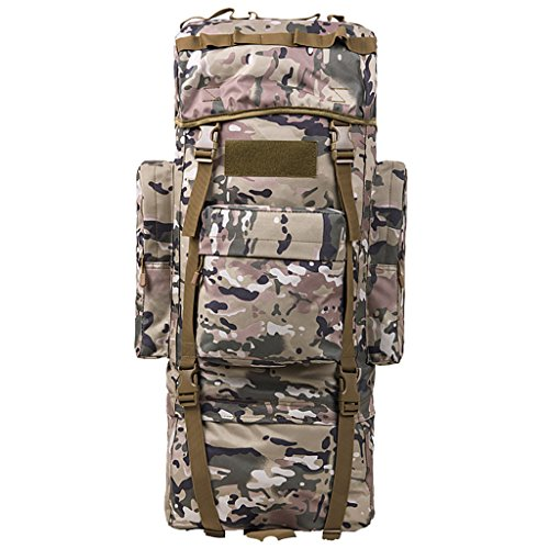 zaino trekking Uomini e donne di 65L / 100L Spalle di grande capacità Indietro i sacchetti di bagaglio dello zaino escursionistico esterno Zaini da escursionismo ( Colore : 7 , dimensioni : 65L-30*20* 4