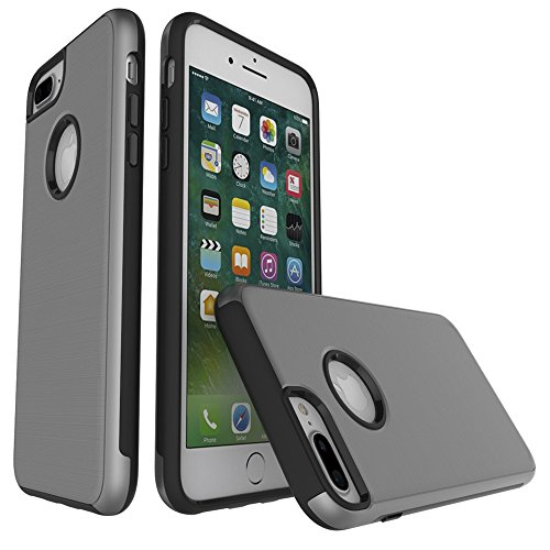JIALUN-Telefon Fall Für Apple IPhone 7 Plus Case, abnehmbare Anti - Vibration Abdeckung ( Color : Gray ) Gray
