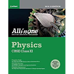 CBSE All in One Physics Class 11 for 2018 - 19