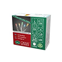 Konstsmide 6350-520 Guirlande Lumineuse à Micro-LED Plastique 1 watts Blanc