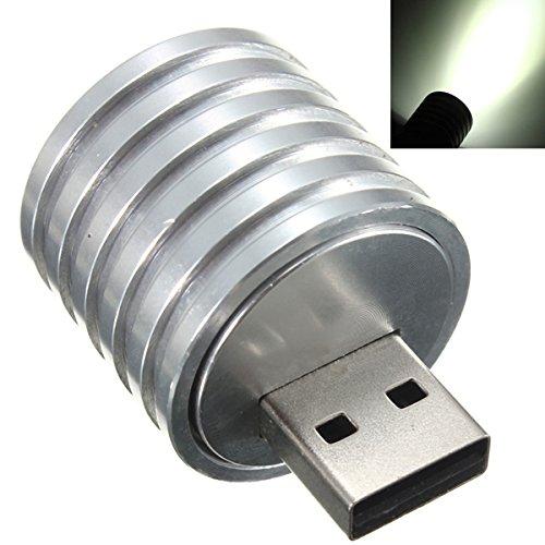 Preisvergleich Produktbild Bluelover B 2W tragbare Mini-USB-LED-Scheinwerfer-Taschenlampen-Nachtlicht
