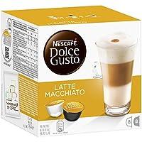 Nescafé Dolce Gusto - Latte Macchiato - 3 Paquetes de 16 Cápsulas - Total: 48 Cápsulas