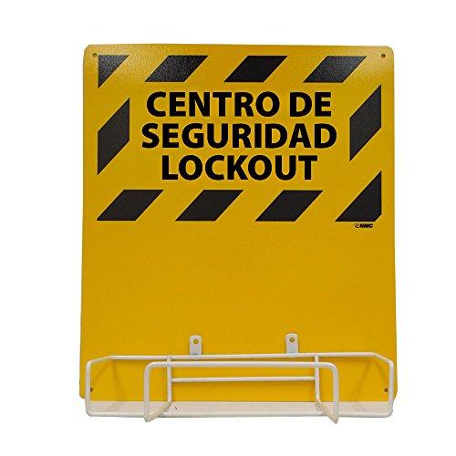 Preisvergleich Produktbild NMC lork2bi Zweisprachige Elektrische Lockout,  Rückwand und Rack,  40, 6 cm Länge x 35, 6 cm Höhe