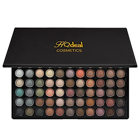 HQdeal 88 Color Eyeshadow Palettes Maquillage Eye Color Palette Poudre Matte Naturel Nu Nu Metallic Smokey Eye Makeup Kit #2