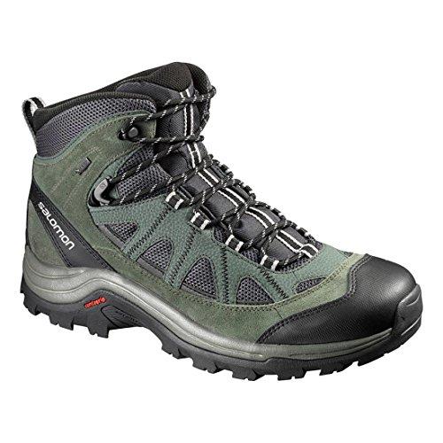 Salomon  Authentic LTR GTX, Chaussures de trekking et randonnée hommes Grey/ Black