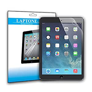 Laptone Screen protector for Apple iPad and ipad Crystal Clear Scratch-proof Invisible Protector