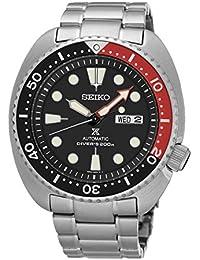 Seiko–Reloj de pulsera analógico automático para hombre acero inoxidable srp789K1
