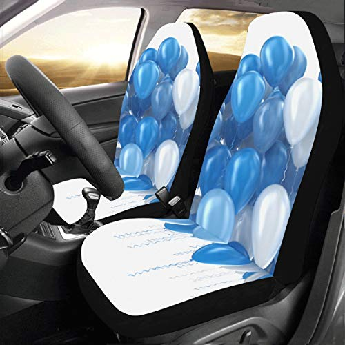 llon Custom New Universal Fit Auto Drive Autositzbezüge Protector für Frauen Automobil Jeep Truck SUV Fahrzeug Full Set Zubehör für Erwachsene Baby (2er Set vorne) ()