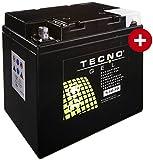 GEL Batterie 53030 BMW R 80 GS/2 Paralever 1990-1998 von TECNO