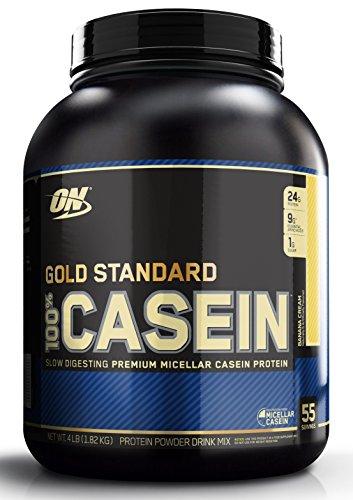 Optimum Nutrition Gold Standard 100% Caseina, Plátano - 1816 g