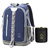 DSLR camera backpack with laptop compartment By TUBU Fits 2 DSLr body, 4-6 Lenses and 14 in Laptop - Blue