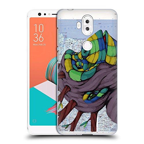 Head Case Designs Offizielle RIC Stultz Neugeist-Bewegung Tiere Ruckseite Hülle für ASUS Zenfone 5 Lite ZC600KL