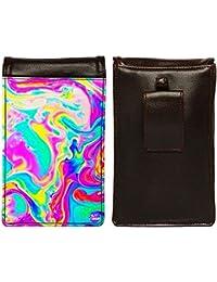Nutcase Designer Travel Waist Mobile Pouch Bag For Men, Fanny Pack With Belt Loop & Neck Strap-High Quality PU... - B075N5Q8P9