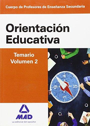 Cuerpo de Profesores de Enseñanza Secundaria. Orientación Educativa. Temario volumen 2 - 9788490934470 por S.L. CENTRO DE ESTUDIOS VECTOR
